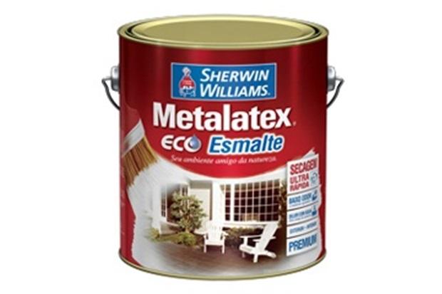 Tinta Eco Esmalte Acetinado Branca 900ml - Sherwin Williams