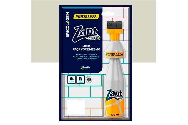 Tinta para Rejunte Zapt Cores Cinza 200ml - Fortaleza