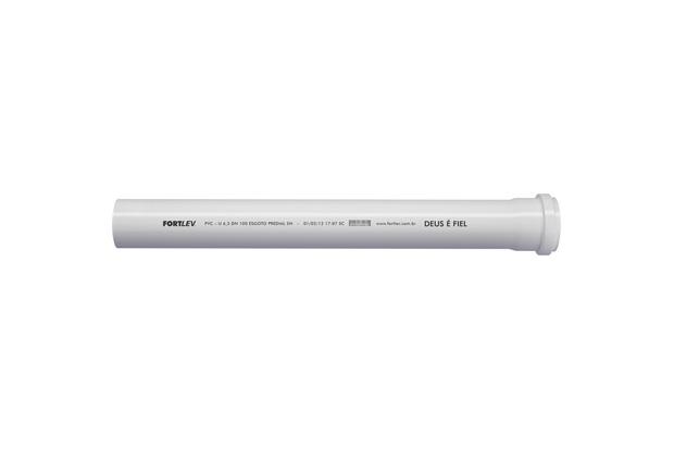 Tubo de Esgoto Série Normal 50mm com 3 Metros - Fortlev