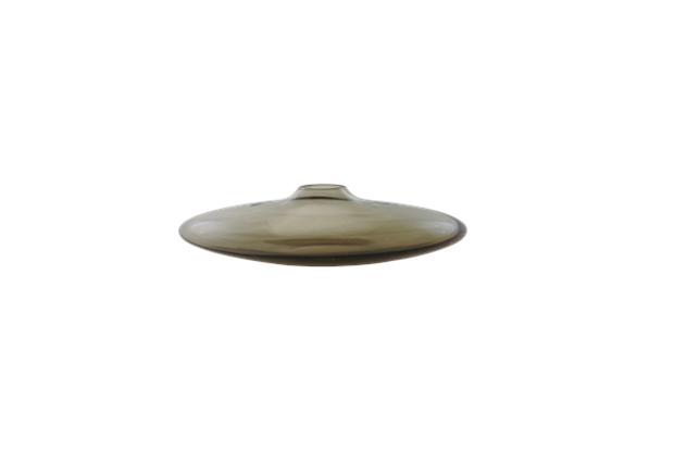Vaso de Vidro Fume Nero Bianco E Nero 9 X 2 X 5,7 Cm - Toyland