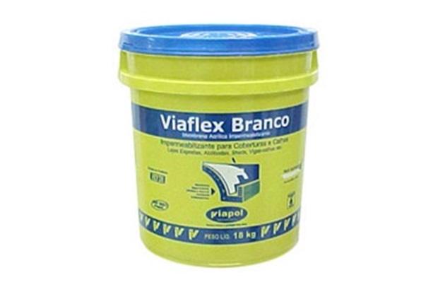 Viaflex Branco Balde 18 Kg - Viapol